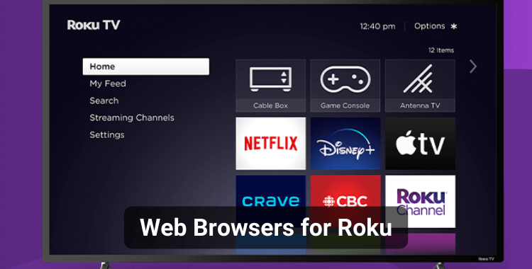 10 Best Web Browsers for Roku Device