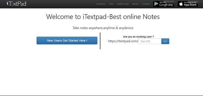 iTextpad website