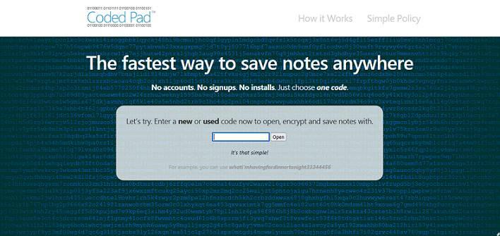 CodePad website