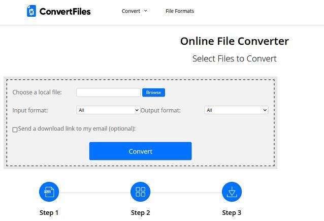 ConvertFile website