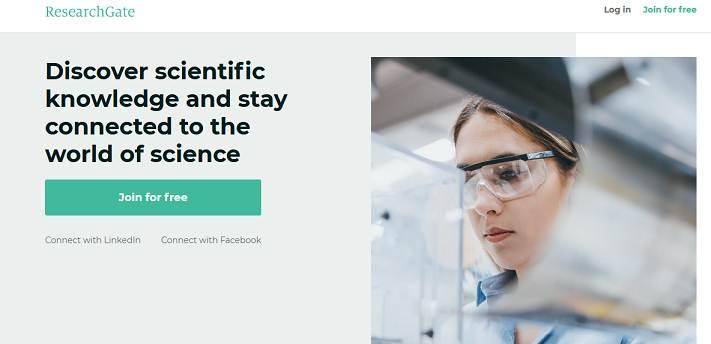 ResearchGate website