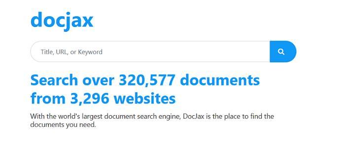 Docjax website