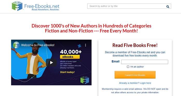 Free eBooks website